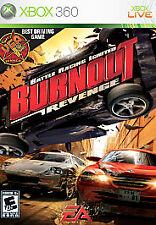 Burnout: Revenge (Microsoft Xbox 360, 2006) Kids Car Racing VIDEO Game Best Deal