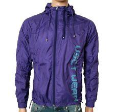 VSCT Double Zip Jacke Windbreaker lila Windjacke Übergangsjacke Blouson Zipper