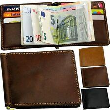 Picard Cartera Cartera (SUPER plana) Clip para dinero Monedero NUEVO