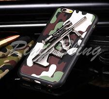 IPhone 6 6 S étui Portable Réplique fusil pistolet Armée Camouflage Housse De Téléphone 70% de réduction!