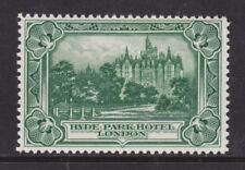 Great Britain MNH. c. 1930 Hyde Park Hotel, London VF+