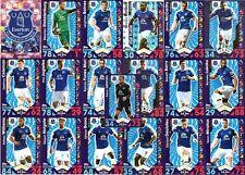 Match Attax 2016/17 Everton - Topps Base football Cards 2017 16/17