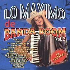 Maximo De Banda Boom 2 Various Artists MUSIC CD