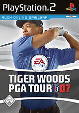 Sony PlayStation ps2-juego | Tiger Woods PGA Tour 07 | incl. caja original