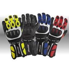Rayven Race-Tek Sports Summer Black Leather Motorcycle Motorbike Glove M Sale