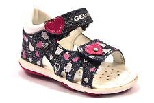 GEOX B5238B 000DY C4117 DENIM Sandalo Bambina Strappi Jeans Tallone Chiuso 18