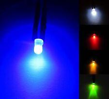 3mm 12v Diodo diffuso LED pre-wired 20cm cavo che emette luce segno chiaro