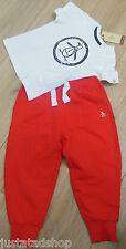 Original Penguin bébé garçon t-shirt & Pantalon Set Summer 9-12 m bnwt