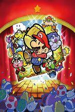 RGC Huge Poster - Paper Mario 64 Nintendo 64 N64 - MAR037