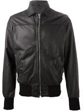 Giacca Giubbotto in Pelle Uomo Men Leather Jacket Veste Blouson Homme Cuir R22