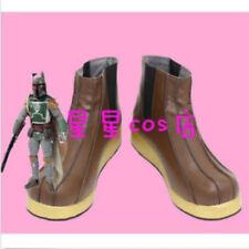 Hot!Star Wars Boba Fett  cosplay shoes costom made  C7997