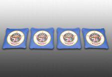 Minnesota State Flag Specialty Custom Cornhole Bags -Set of 4- Baggo - Corn Toss