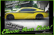 06 07 08 09 2010 Dodge Charger Side Stripe Decal CUSTOM SRT RT SXT Daytona #4