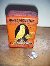 hartz mountain song food tin 3.5 oz. bird breeders of america seal of approval