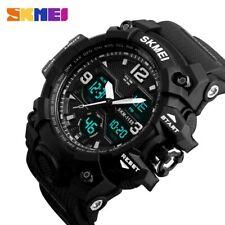 SKMEI Fashion Men Sports Watch Quartz Analog Digital Military Waterproof