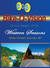 "Bike-O-Vision Cycling Video, ""Western Seasons""  Widescreen"