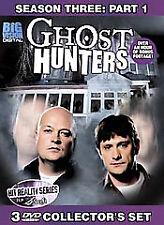 Ghost Hunters Season 3 - Part 1 (DVD, 2007, 3-Disc Set)