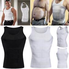 Mens Slimming Undershirt Corset Weight Loss Sport Body Shaper Belly Underwear