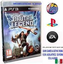 BRUTAL LEGEND PS3 TIM SCHAFER GIOCO PS3 NUOVO ITALIANO