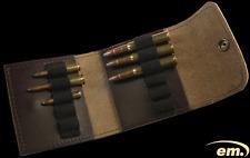 Patronenetui Leder 6 große / 5 kleine Kugeln,braun