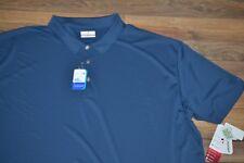 GRAND SLAM Performance Golf Shirt Big & Tall Insignia Blue SunFlow Easy Care