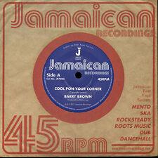"Barry Brown – Cool Pon Your Corner LTD 7"" NEW £4.99"