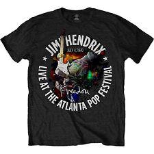 Jimi Hendrix Atlanta Pop Festival 1970 OFFICIAL Unisex T-Shirt up to XXL B5