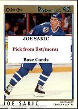 Joe Sakic | HOF | LOT x1 | 1990-91 to 1997-98 | U Pick