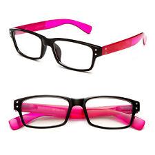 Fashion Clear Lens Glasses Brandless Frame Unique Colors