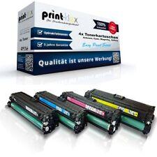 4x Cartuchos Tóner De Calidad para HP Color LaserJet CE740-743A Easy Imprimir