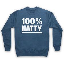 100% 100 PERCENT NATTY NATURAL BODYBUILDING GYM WORKOUT ADULTS & KIDS SWEATSHIRT
