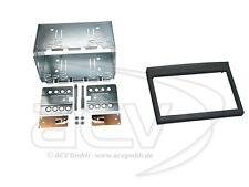 PORSCHE 911 Typ 996 Auto Radio Blende Einbau Rahmen Doppel-DIN 2-DIN Radioblende