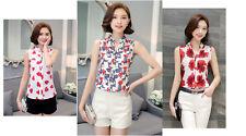 Women's Chiffon Sleeveless Shell Shirt/Top size 12&14