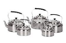 Kettle 1.5-5.5L Water Coffee Tea Pot Aluminium Home Camping BBQ Kitchen Cookware