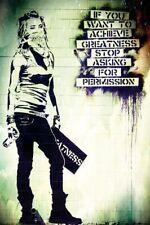 157377 Banksy Street Wall Print Poster Affiche