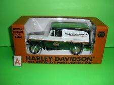Liberty 1953 WILLYS JEEP PANEL TRUCK 1:25 Farmington Hills, MI Harley Davidson
