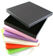 40 x Vibrant Series Large Necklace Boxes - colour choice - FREE DELIVERY (ET-12)