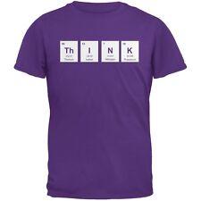 ThINK Periodic Elements Purple Adult T-Shirt
