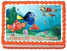 FINDING NEMO Birthday Image Edible Cake topper