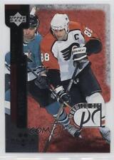 1997 Upper Deck Black Diamond Premium Cut Double #PC13 Eric Lindros Hockey Card
