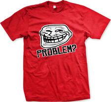 Problem? Troll Face Internet Meme Coolface Have Blog Comment You Men's T-Shirt