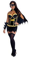 Fancy Dress Costume ~ Sexy Batgirl / Superhero (Batman) Corset Ladies Size 6-18