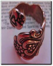 Solid copper adjustable ring 1795C3