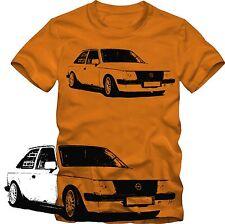 T-Shirt  Opel Kadett  D GSI T-Shirt Tuning viele Farben  Retro Style  Grafik DTG