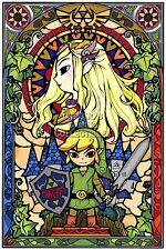 RGC Huge Poster - Legend of Zelda Wind Waker HD Nintendo Wii U GameCube - ZEL050