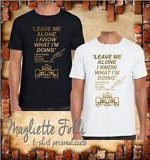 Maglia Mens Boys Girls Unisex T-Shirts Kimi Raikkonen Leave Me Alone F1 Lotus GP