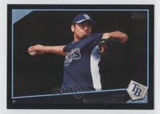 2009 Topps Wal-Mart Black #545 Matt Garza Tampa Bay Rays Baseball Card