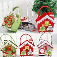 Almacenamiento De Dulces De Navidad Porta Regalo Bolsas De Navidad Papá Noel