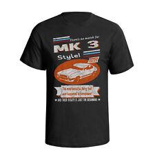 FORD Capri MK 3 1977 Stile Retrò Da Uomo Auto T-shirt