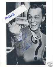 Frank Gorshin Riddler Batman Autographed Signed 8x10 Photo #2 COA DECEASED